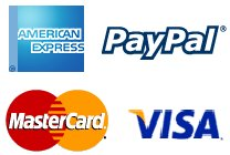 mastercard, visa, amex & pay pal all accepted here. PLEASE CALL 1-866-686-8529 TO PLACE YOUR ORDER